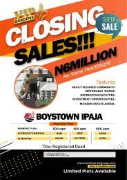 Mixed   Use Land Land for sale Boys Town Bus Stop Boys Town Ipaja Lagos