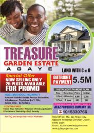 Serviced Residential Land Land for sale Agaye, Satellite Town Satellite Town Amuwo Odofin Lagos