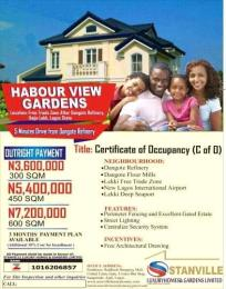 Residential Land Land for sale Along Eleko Ibeju Lekki Lagos Free Trade Zone Ibeju-Lekki Lagos