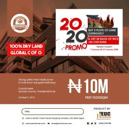 Mixed   Use Land Land for sale Along Lekki Free Trade Zone ( 1 Mile From Dangote Refinery ) Ibeju Lekki Lagos State Free Trade Zone Ibeju-Lekki Lagos
