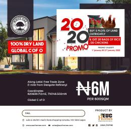 Commercial Land Land for sale Along Lekki Free Trade Zone ( 1 Mile From Dangote Refinery ) Ibeju Lekki Lagos State Free Trade Zone Ibeju-Lekki Lagos