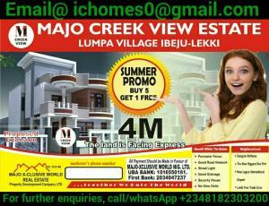 Residential Land Land for sale Very Close To Dangote Refinery Akodo Ise Ibeju-Lekki Lagos