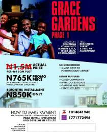 Residential Land Land for sale OMUANWA COMMUNITY, IKWERE L. G. A, RIVER STATE, PORTHARCOURT  Biase Cross River