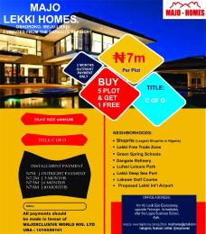 Residential Land Land for sale Oshoroko, Ibeju Lekki, 3 minutes from dangote Refinery Free Trade Zone Ibeju-Lekki Lagos