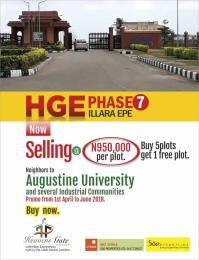 Land for sale Ilara Epe Epe Road Epe Lagos - 0