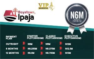 Land for sale - Boys Town Ipaja Lagos