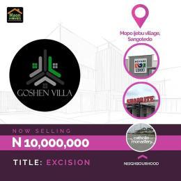 Residential Land Land for sale Goshen Villa Sangotedo Ajah Lagos