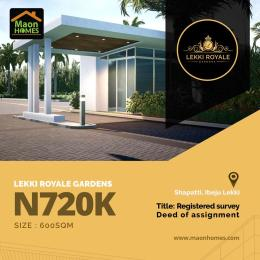 Land for sale Off Lekki-Epe Expressway Ajah Lagos