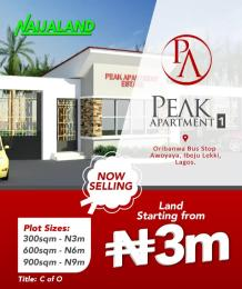 Residential Land Land for sale Awoyaya Ajah Lagos