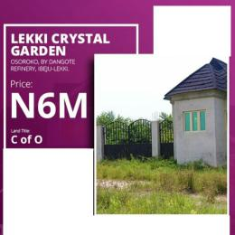 Land for sale by Dangote oil refinery Free Trade Zone Ibeju-Lekki Lagos