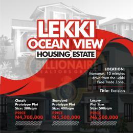 Residential Land Land for sale By itamarun  Eleranigbe Ibeju-Lekki Lagos