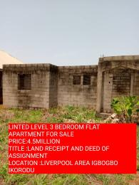 3 bedroom Self Contain Flat / Apartment for sale liverpool area Igbogbo Ikorodu Lagos