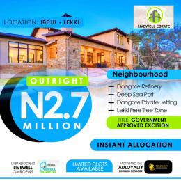 Land for sale Ogogoro Ibeju Lekki Ogogoro Ibeju-Lekki Lagos