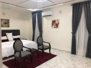 4 bedroom Terraced Duplex House for shortlet By lekki conservation centre Road Before second toll gate  Lekki Lagos