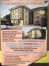 3 bedroom Studio Apartment Flat / Apartment for sale  Off Cocosheen close Allen Avenue Ikeja Lagos