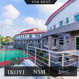 3 bedroom Flat / Apartment for rent Osborne Foreshore Estate Ikoyi Lagos