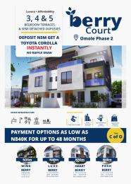 5 bedroom Detached Duplex House for sale Berry Court Omole phase 2 Ojodu Lagos