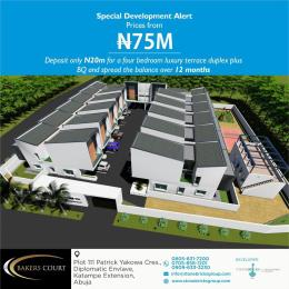 5 bedroom Terraced Duplex House for sale Diplomatic Enclave Katampe Ext Abuja