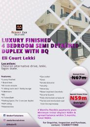 4 bedroom Semi Detached Duplex House for sale Chevron Alternative Drive, Lekki, Lagos State chevron Lekki Lagos