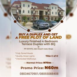 4 bedroom Terraced Duplex House for sale Jabi Abuja