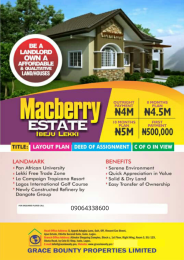 Residential Land Land for sale Ibeju Ibeju-Lekki Lagos