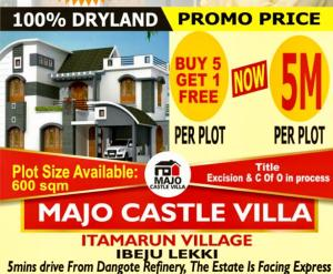 Residential Land Land for sale Owode ise Free Trade Zone Ibeju-Lekki Lagos