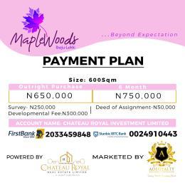 Mixed   Use Land Land for sale Igbogun road Orimedu Ibeju-Lekki Lagos