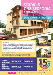 1 bedroom mini flat  Mini flat Flat / Apartment for sale . Fola Agoro Yaba Lagos
