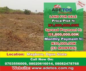 Mixed   Use Land Land for sale magboro Arepo Arepo Ogun