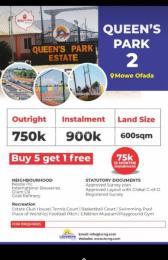 Land for sale - Ofada Obafemi Owode Ogun