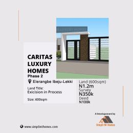 Mixed   Use Land Land for sale Caritas Luxury Homes Eleranigbe Ibeju-Lekki Lagos