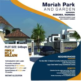 Residential Land Land for sale Agbowa just few minute drive from Lagos state housing estate Ikorodu  Ikorodu Ikorodu Lagos