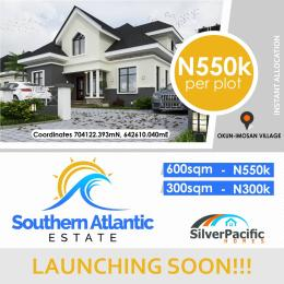 Commercial Land Land for sale between two waterfronts, Atlantic to the south and and Lagos lagoon to the north LaCampaigne Tropicana Ibeju-Lekki Lagos