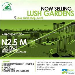 Mixed   Use Land Land for rent OKE BAALE Eleranigbe Ibeju-Lekki Lagos