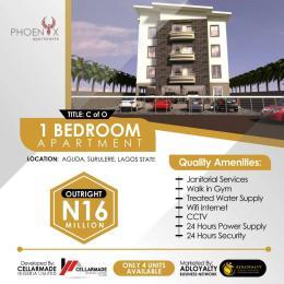 1 bedroom mini flat  Self Contain Flat / Apartment for sale Bolaji Banwo Street Aguda Surulere Lagos