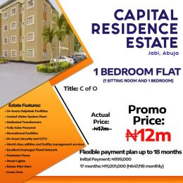 1 bedroom mini flat  Mini flat Flat / Apartment for sale Jabi  Jabi Abuja