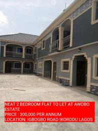 2 bedroom Self Contain Flat / Apartment for rent awobo estate  Igbogbo Ikorodu Lagos