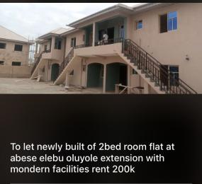 2 bedroom Flat / Apartment for rent Abese area, Elebu Akala Express Ibadan Oyo