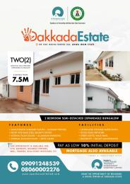 2 bedroom Semi Detached Bungalow House for sale Ibiaku Ikot Ukpong, Ibiono off Idoro road, Uyo. Uyo Akwa Ibom