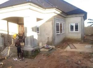 Detached Bungalow House for sale Rumukaparali Ozuoba Obia-Akpor Port Harcourt Rivers