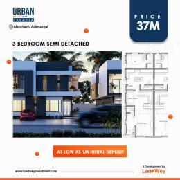3 bedroom Semi Detached Duplex House for sale Monastery road Sangotedo Ajah Lagos
