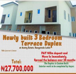 4 bedroom Terraced Duplex House for sale Monastery road Sangotedo Lagos