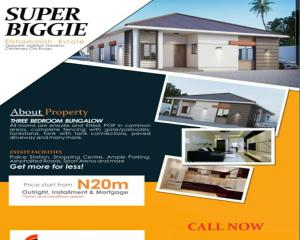 3 bedroom Detached Bungalow House for sale Off Centenary City, Lifestyle Estate, Enugu Enugu Enugu