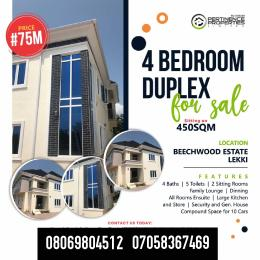 4 bedroom House for sale Beechwood Estate Lekki Lekki Lagos