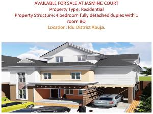 4 bedroom Boys Quarters Flat / Apartment for sale Karmo Abuja