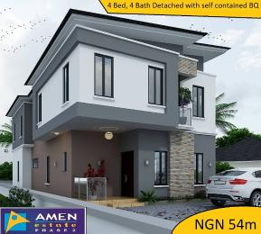 4 bedroom House for sale Amen Estate Phase 2,Eleko Beach Road Eleko Ibeju-Lekki Lagos