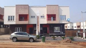 4 bedroom Semi Detached Duplex House for sale Close to the Catholic Church and also Visible from Charly Boy.  Life Camp Abuja