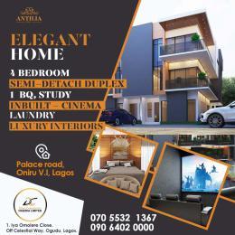 5 bedroom Semi Detached Duplex House for sale Palace road, Oniru, Victoria Island, Lagos Lagos Island Lagos Island Lagos