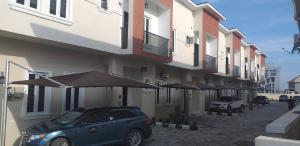 4 bedroom Terraced Duplex House for rent Fairview estate, on Coleman  street immediately after  van Daniels street off orchid hotel road , lafiaji second tollgate lekki   Oral Estate Lekki Lagos