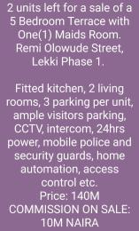 2 bedroom Terraced Duplex House for sale Lekki Phase 1 Lekki Lagos